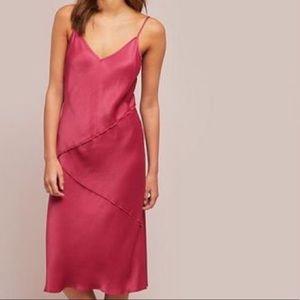 Anthro {Sat Sun} Rosalina Slip Midi Dress Size M